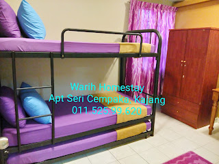 Warih-Homestay-Sri-Cempaka-Kajang-Second-Bedroom