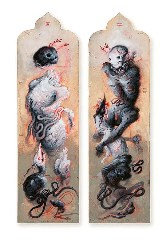 Pintura, surrealismo y autoaprendizaje por A. W. Sommers