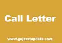 Gujarat State Agricultural Universities Junior Clerk CPT Exam Call Letter 2021