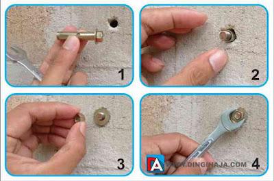 Cara Pemasangan Dynabolt