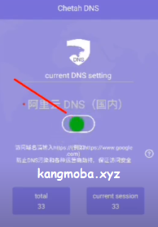 APK DNS Ping Stabil MLBB