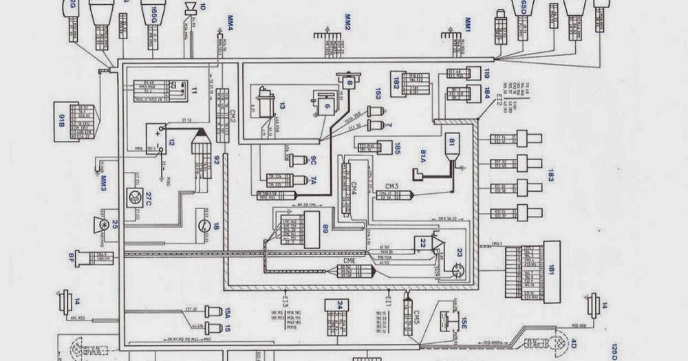 fiat diagrama de cableado de la caja