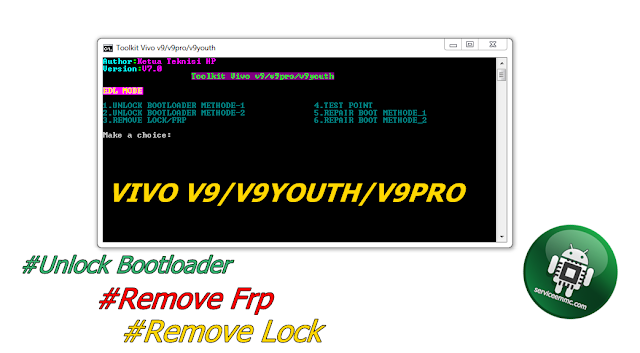 #Toolkit_Unlock Bootloader+Repair Boot VIvo V9/v9youth/V9 Pro