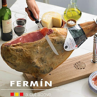 Fermin ,Bone In ,Jamon Serrano ,16-18 lbs, holder not included