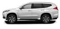 Mitsubishi Pajero Exceed Warna Putih