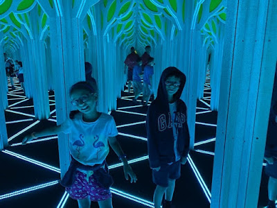 Mirror Maze at the Frost Museum, Miami