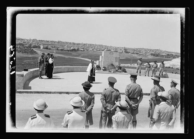 Anzac Day celebration in Jerusalem 25 April 1942 worldwartwo.filminspector.com