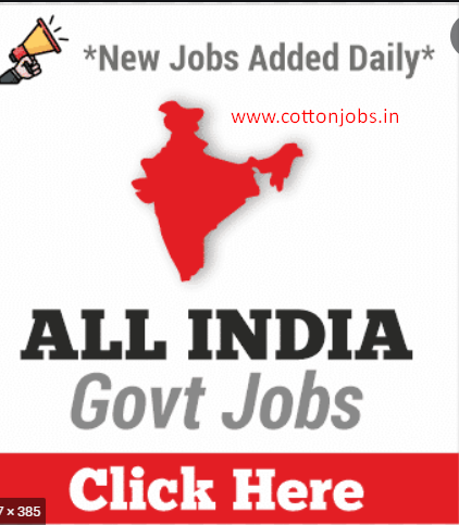 ALL INDIA GOVT JOBS LIST OUT