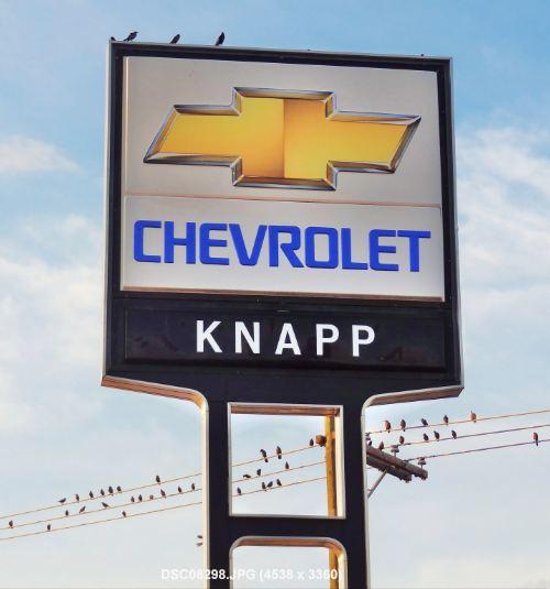 Los Angeles Chevrolet Dealer In Cerritos: Houston In Pics: Knapp Chevrolet Dealership In Historic