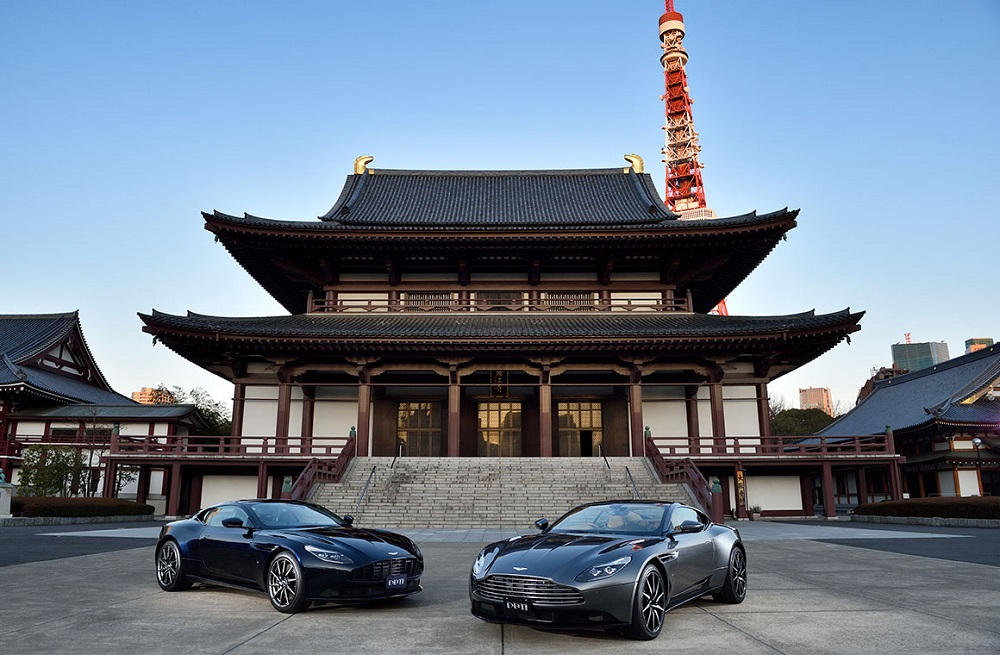 Aston Martin maps out £500 million in trade and investment with Japan