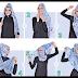 6 Cara Mudah Memakai Jilbab Segi Empat Zoya Terbaru