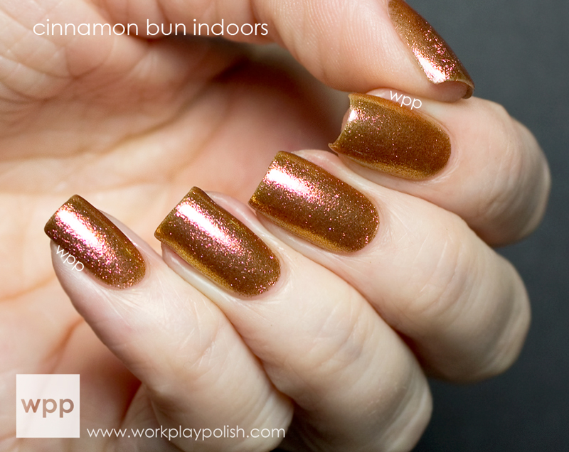 Ruby Wing Cinnamon Bun from the Cupcakes and Champagne Collection