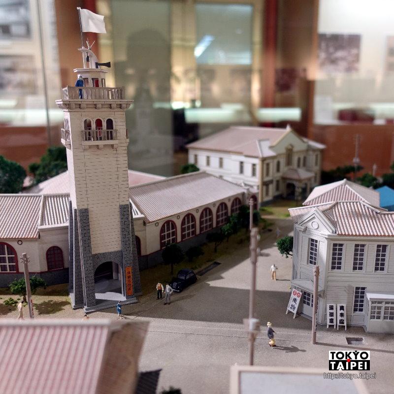 【那霸市歷史博物館】隱身在百貨公司的小博物館 精巧模型重現戰前那霸市街