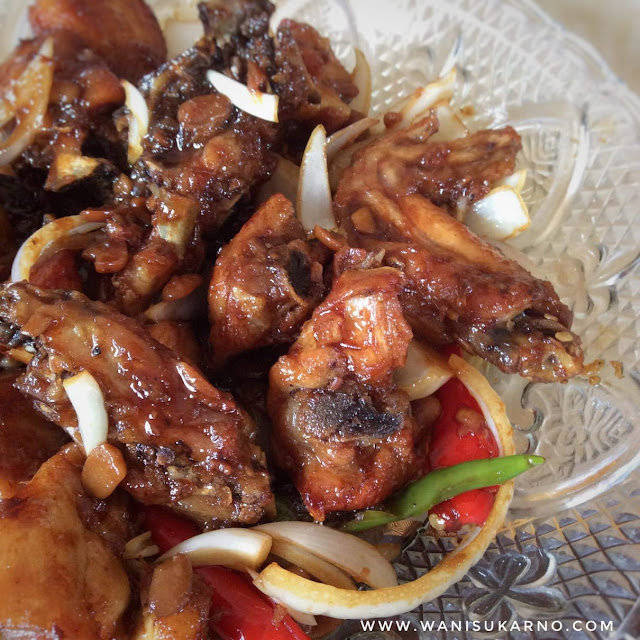 resepi ayam goreng kicap taucu yang mudah dan sedap