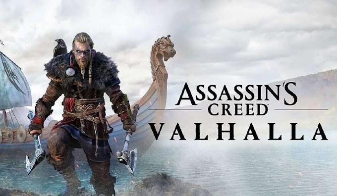 Sorteio do game Assassin's Creed Valhalla