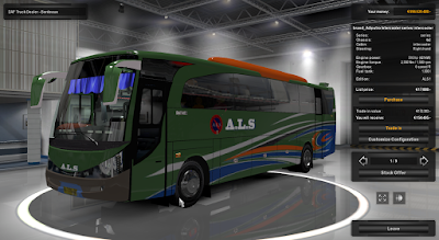 Mod Bus Adiputro Series by Rindray Euro Truck Simulator 2