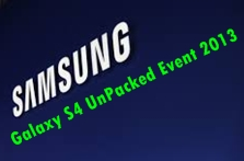 Galaxy S4 Launch Event