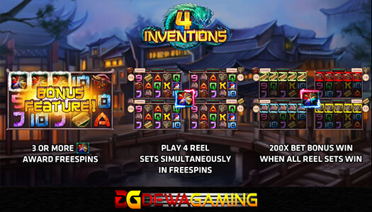 Joker Gaming The Four Invention 20 Ribu