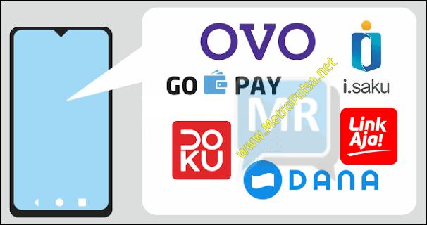 MetroPulsa.net CV Metro Media Payment Top Up Saldo GoPay Ovo Dana LinkAja Mudah dan Murah