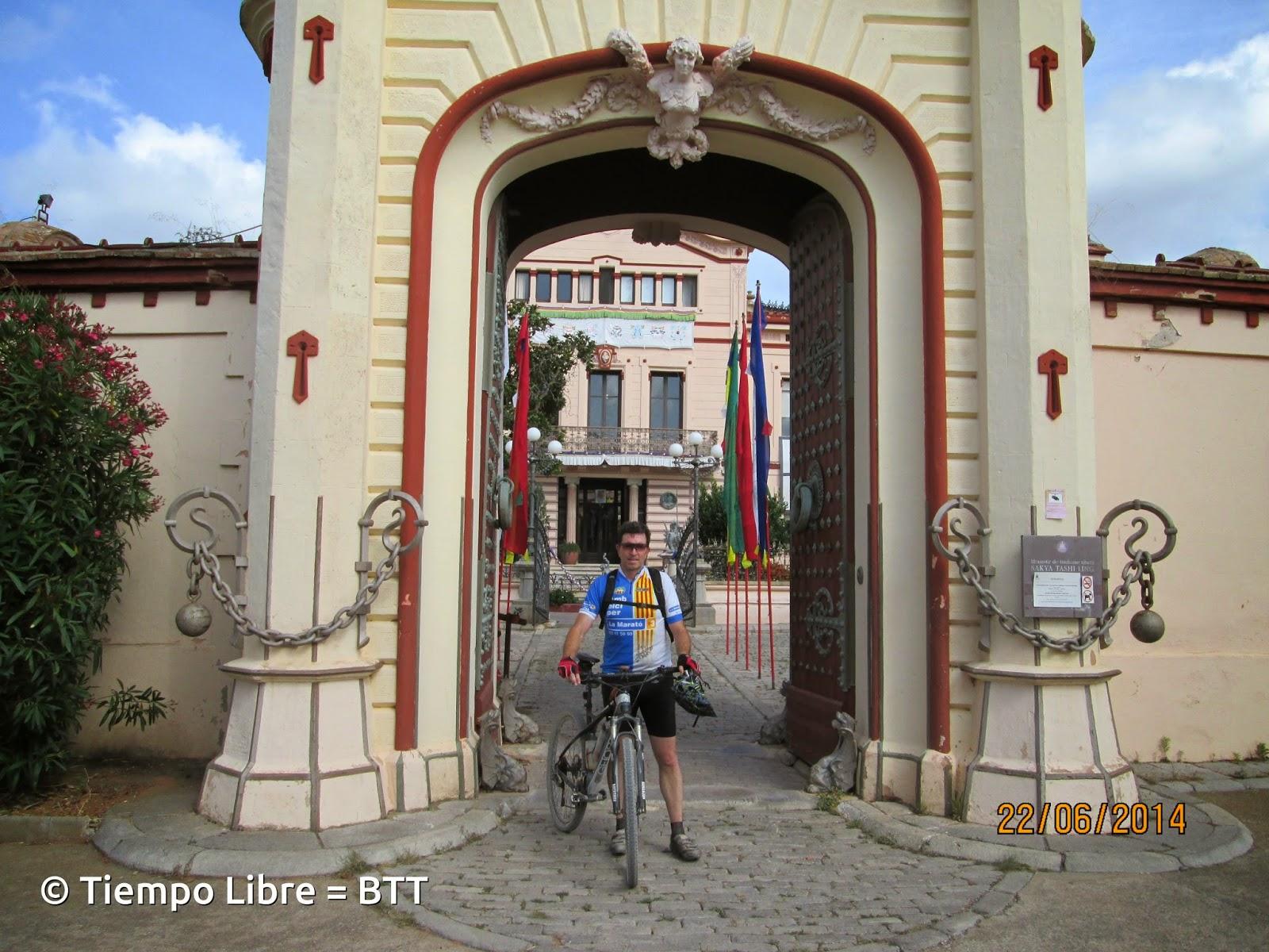 Tiempo libre btt gav begues monasterio budista del garraf ermita de la trinidad - Temperatura en begues ...