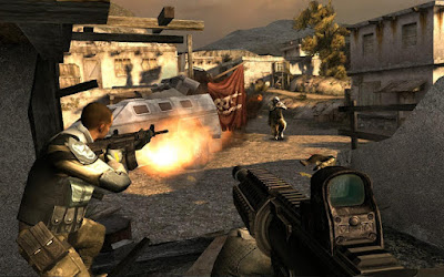 Tampilan Game Modern Combat 3 Fallen Nation
