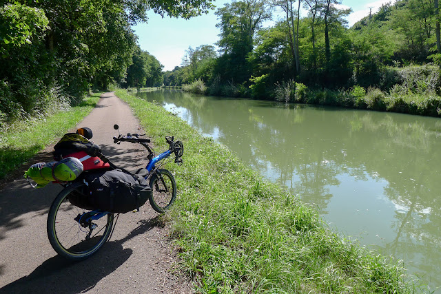 De Paris à Narbonne en vélo, Bords de canal