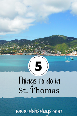 5 things to do in St. Thomas