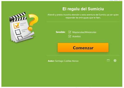 http://www.educaplay.com/es/recursoseducativos/2329756/el_regalu_del_sumiciu.htm