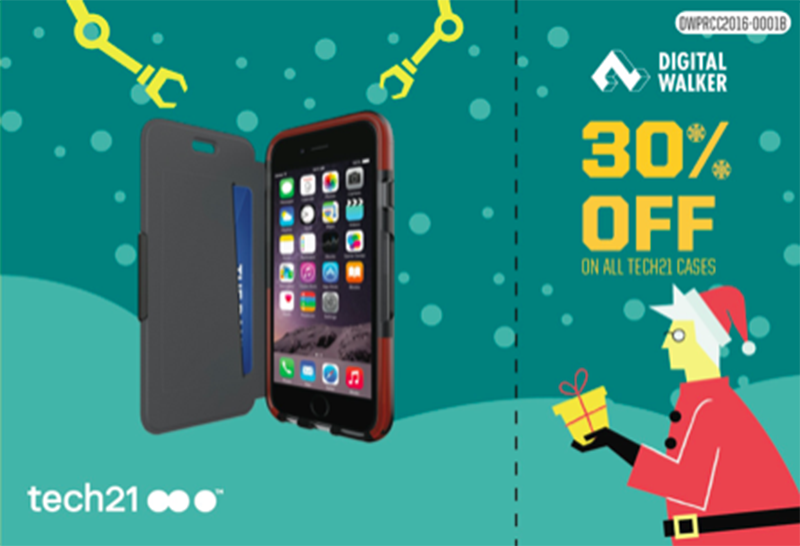 30% off for tech21 cases!