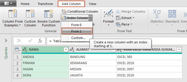 Cara Impor Hasil Google Form / Spreadsheet ke Excel
