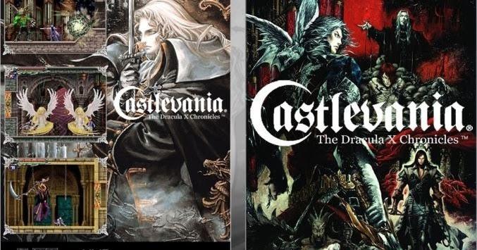 castlevania dracula x chronicles rom español