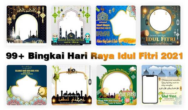 Bingkai Hari Raya Idul Fitri 2021