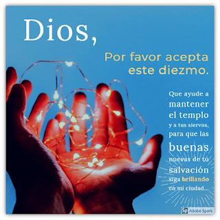 Oración Eficaz para Diezmar basada en Malaquías 3:10