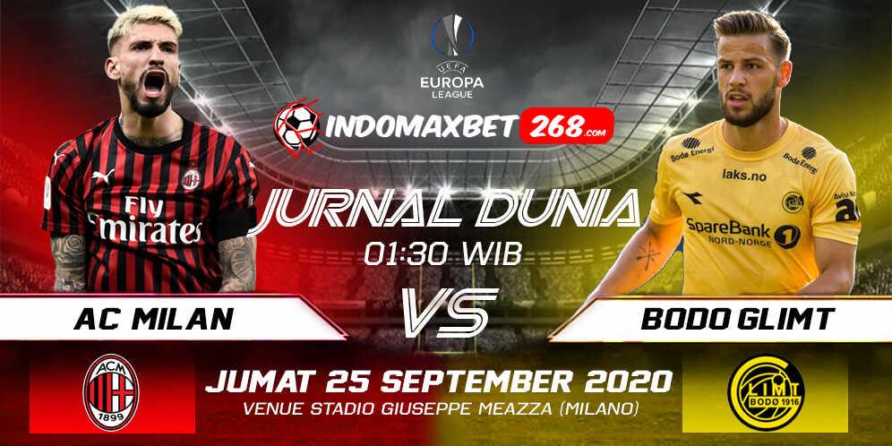 Prediksi AC Milan vs Bodo Glimt 25 September 2020 Pukul 01:30 WIB