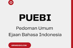 Penggunaan Huruf Sesuai dengan PUEBI (Pedoman Umum Ejaan Bahasa Indonesia)
