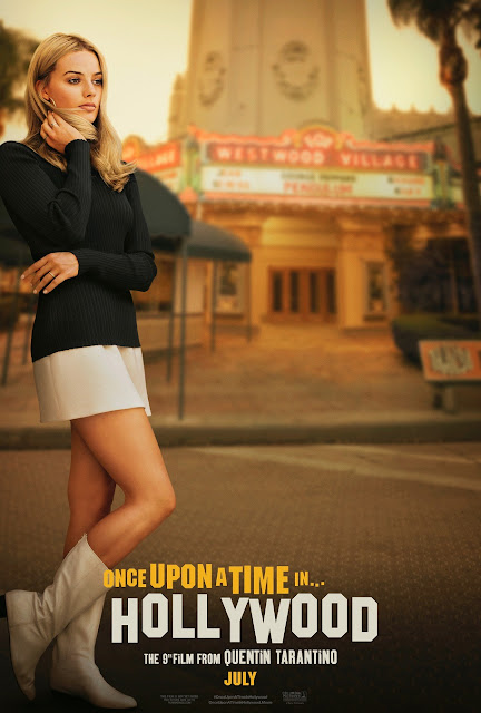 """Margot Robbie se deja ver en el nuevo póster de """"Once Upon a Time in Hollywood"""" (2019), y primer trailer oficial!"""