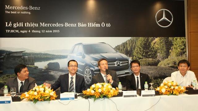 Bảo hiểm Ô tô Mercedes-Benz có mặt tại thị trường