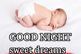 Good night baby wallpaper, good night image with baby