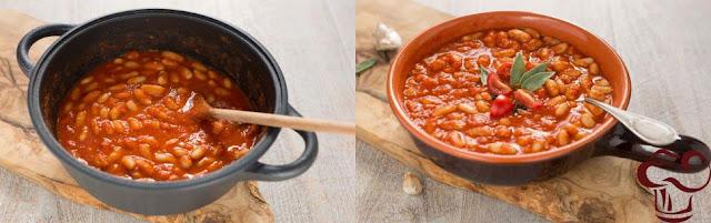 Receta frijoles en salsa parte 3