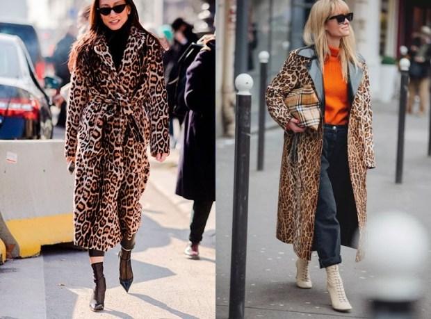 Women Fashion Leopard Print For Winter 2019