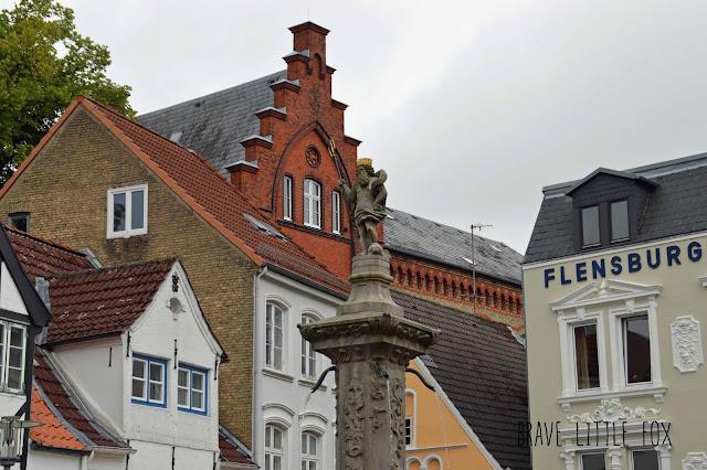 Neptun-Brunnen Nordermakt Flensburg
