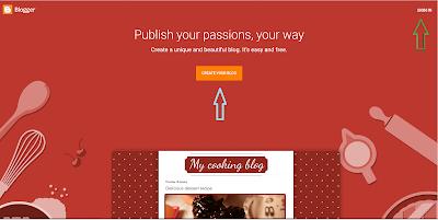 blogger interface,blogger kaise suru kre,online earn money