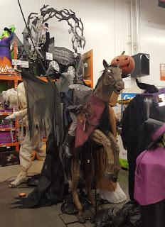 A headless horseman at Home Depot