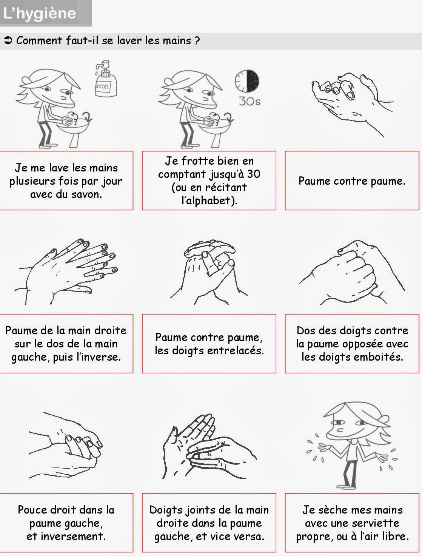 Très Le blog de Cathnounourse: lavage des mains JP64