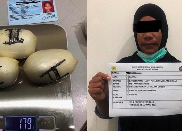 Tegah 359 Gram Sabu di Bandara, BC Amankan 2 Wanita Hendak Ke Jakarta-Lombok