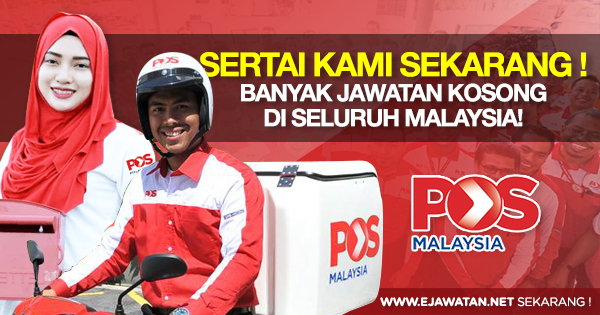jawatan kosong di pos malaysia berhad 2020