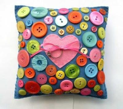 Ideias para te inspirar: Como aproveitar botões.