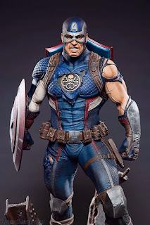 Papel de parede vingadores capitão America
