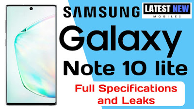 Samsung Galaxy Note 10 Lite Specification