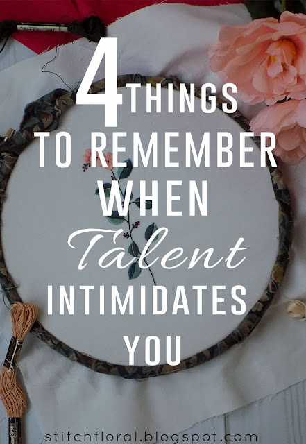 4 things to remember when talented stitchers intimidate you